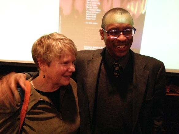 Susan Tichy and Ethelbert Miller -Mar 5-1